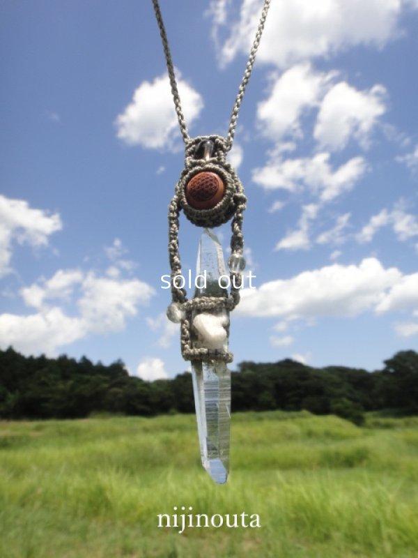 画像4: 聖地の叡智∞ガネーシュヒマール(DT)・屋久杉フラワーオブライフ・スモーキークォーツ・アイスクォーツ・水晶