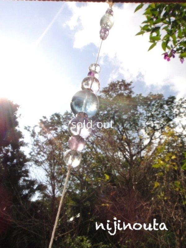 画像4: クリスタルサンキャッチャー森の精霊∞水晶・カイヤナイト・フローライト
