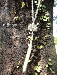 他の写真1: バリ島スピリテュアルジュエリー・gapura penggalih・お数珠のロングネックレス・風の精